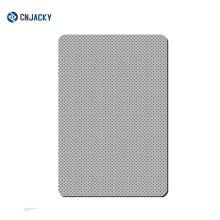 Placa de acero inoxidable para laminado de tarjetas