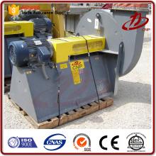 Caldera industrial baja presión polvo extractor ventilador centrífugo