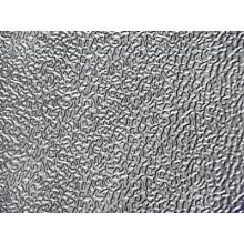 Folha de alumínio em relevo estampada de casca de laranja 3003