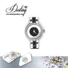 Destiny Jewellery Crystal From Swarovski Crystal Watch