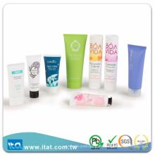 2 oz de alta calidad impresa tubo cosmético para el cuidado personal LDPE tubo de embalaje