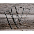 Steel U Shape Metal Staple for Artificail Grass or Ground Sheets