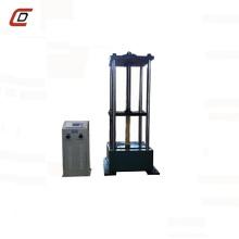 Máquina de pruebas de compresión de tubos de humos con pantalla digital