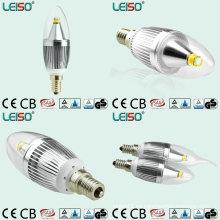 Bombilla de LED Luz de vela con regulable