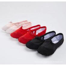 Cheapest Foldable Leather Head Ballerina Dance Shoes Ballet Flats Shoes