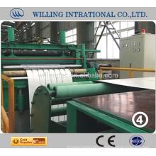 El acero que corta la línea máquina increíble precio bajo hecho en ZheJiang China