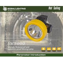 BK3000 Eclairage imperméable industriel à lumière minière portable, avec certification ATEX IECEX