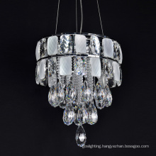 crystal light pendant metal modern light fixtures chandelier