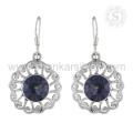 Exclusivo diseño indio 925 libra esterlina nueva mística piedra preciosa pendiente joyas al por mayor proveedor