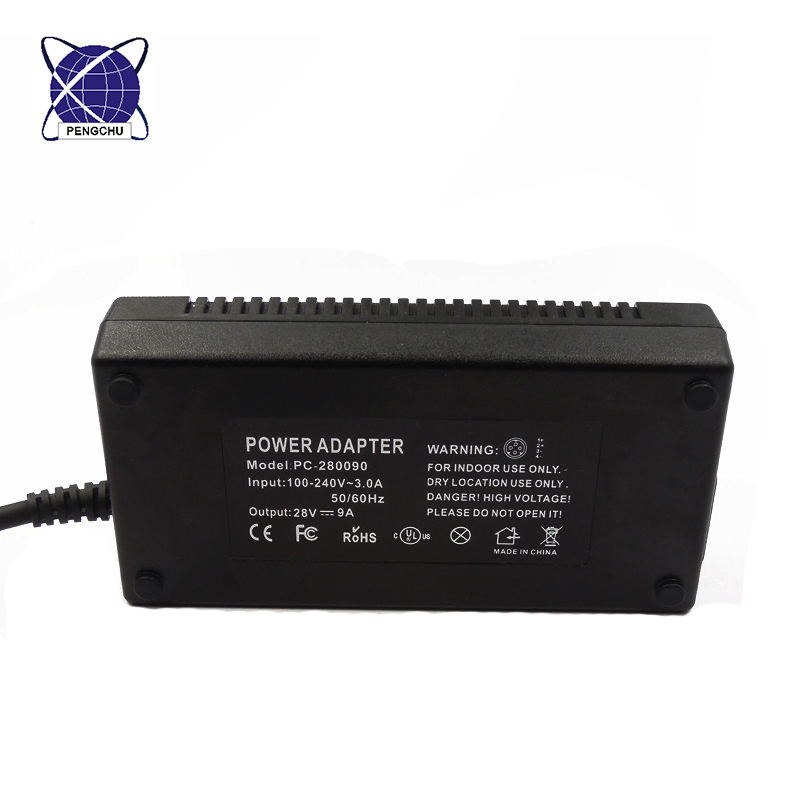 28V 9A power supply adapter