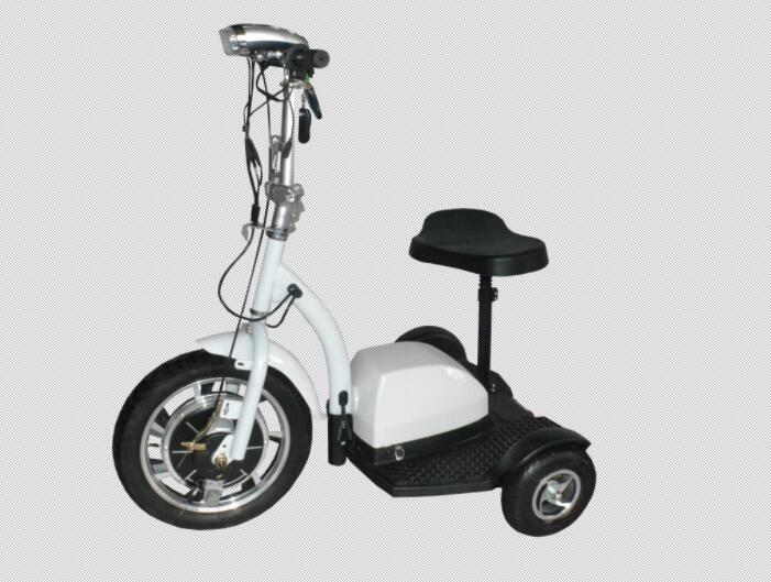 Aluminium Folding Electric Tricycle