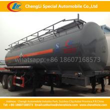 0Double Tri-Achsen Schwefelsäure Diesel Benzin Petroleum Öl Tanker Tank Auflieger