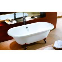 Freestanding Ancient Clawfoot Bathtub