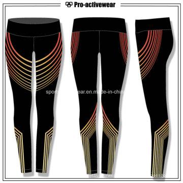 OEM atacado cintura alta esporte mulheres fitness yoga calças