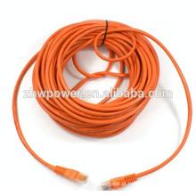 Cabo de rede cabo utp cat 5e Cabo patch cord fornecedor cabo de patch com material BC CCA