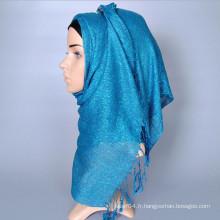 Lurex twist frange glitter mode hijab