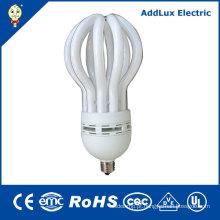CE 110-240V 9W - bulbo fluorescente compacto da flor de 105W Lotus