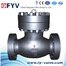 Válvula de retenção de alta pressão API 1500lb