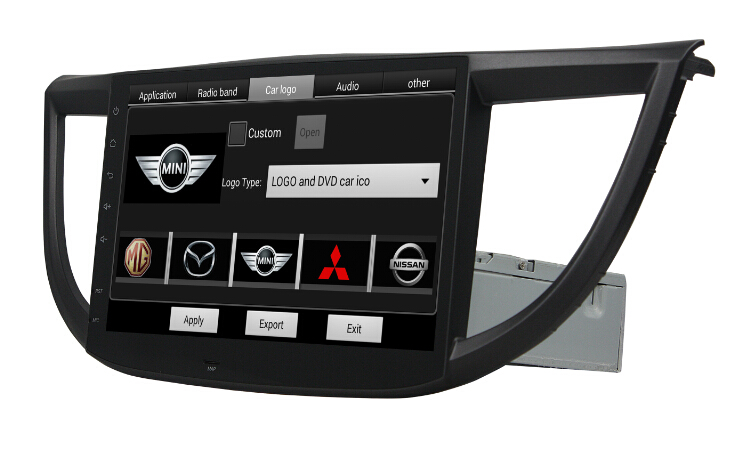 10.1 inch Deckless Android Car DVD For Honda CRV 2012-2015
