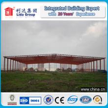 Long Span Steel Strucure Almacén Luz Metal Estructura Taller