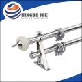 New design Resin Finial Metal Curtain Pipe Set