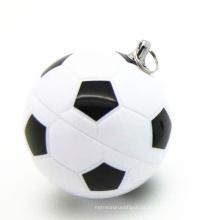 Pendrive USB do futebol do esporte do PVC para produtos relativos à promoção