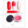 Pó termocrômico para unha polonês Pigmento cosmético