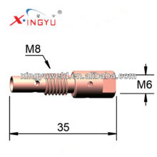 Cobre contato ponta titular à venda (Binzel 25ak) / soldagem tocha peças