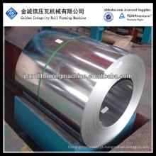 Bobina de aço galvanizado 0,2 a 1,2 mm de espessura de qualidade principal