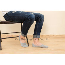 Summer Cotton Socks Men Invisible Socks Low Cut Socks for Men with Silicion Gel Heel