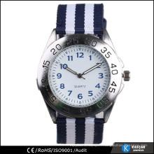 Montre tissée à la mode slap montre montres montre hommes 2014
