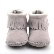 Nyfödd First Walker Kids Leather Boots Baby