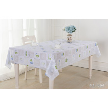 gold and silver roll pvc lace table cloth