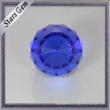 Glamour Sapphire Blue Crystal Beads para joyería