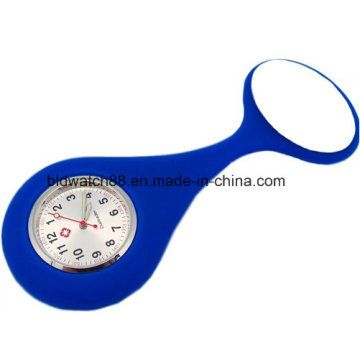 Waterproof Silicone Nurse Fob Montres Japan Movt