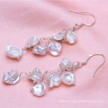 8-9mm Keshi Pearl Earrings
