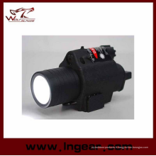 Qd 180lm 6V M6 lampe tactique LED & rouge Laser Sight Black