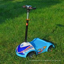Cuatro ruedas Mini Scooter niños Stand on