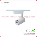 Very Hot 30W White/Black LED COB Track Lights for Jewelry Shop LC2328t