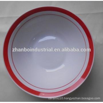 Customized ceramic bowl, porcelain bowl, salad bowl