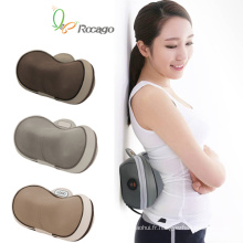Mini oreiller de coussin de massage de silicone de chauffage de ménage pour l'usage de voiture à la maison