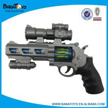 Criança, bateria, operado, infravermelho, brinquedo, arma