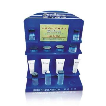 4 Farbdruck Acryl Shop Display Racks mit 2 Regalen
