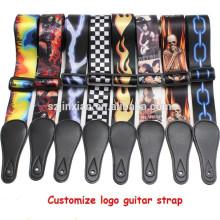 wundervolles Gitarrengurte Kundengebundenes Muster kann angenommen werden