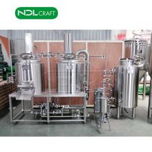 Équipement de brassage de bière micro automatique de la mini-brasserie 100L