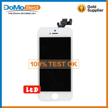 New arrival, hot sale for iphone 5 lcd , for iphone 5 lcd with glass .for iphone 5 lcd screen