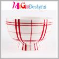 Ensalada de cerámica Candy Bowl decorativo