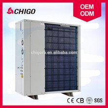 Ahorro y calefacción de la casa solar de ahorro de energía