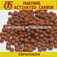 Meios de filtragem de areia cerâmica, ceramsite à venda, fornecimento do fabricante