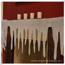 Polyester Glitter Icicles Fringe Border for Christmas Decoration
